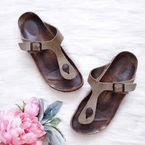 Birkenstock Gizeh Suede Thong Sandal